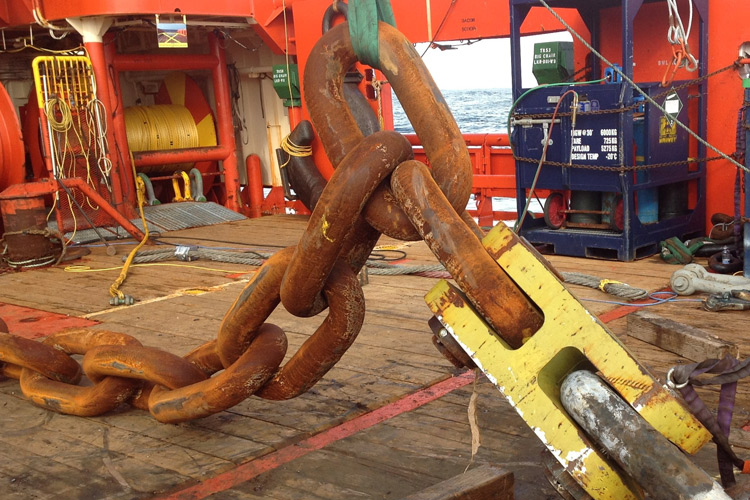 FPSO Mooring Chain Repair