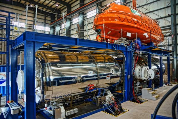 HLB to HRF Mating Trials – DSV Wellservicer