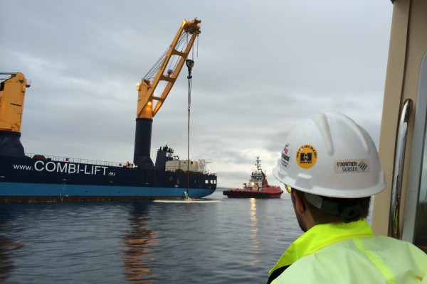 FPSO Turret Cover Plate Recovery