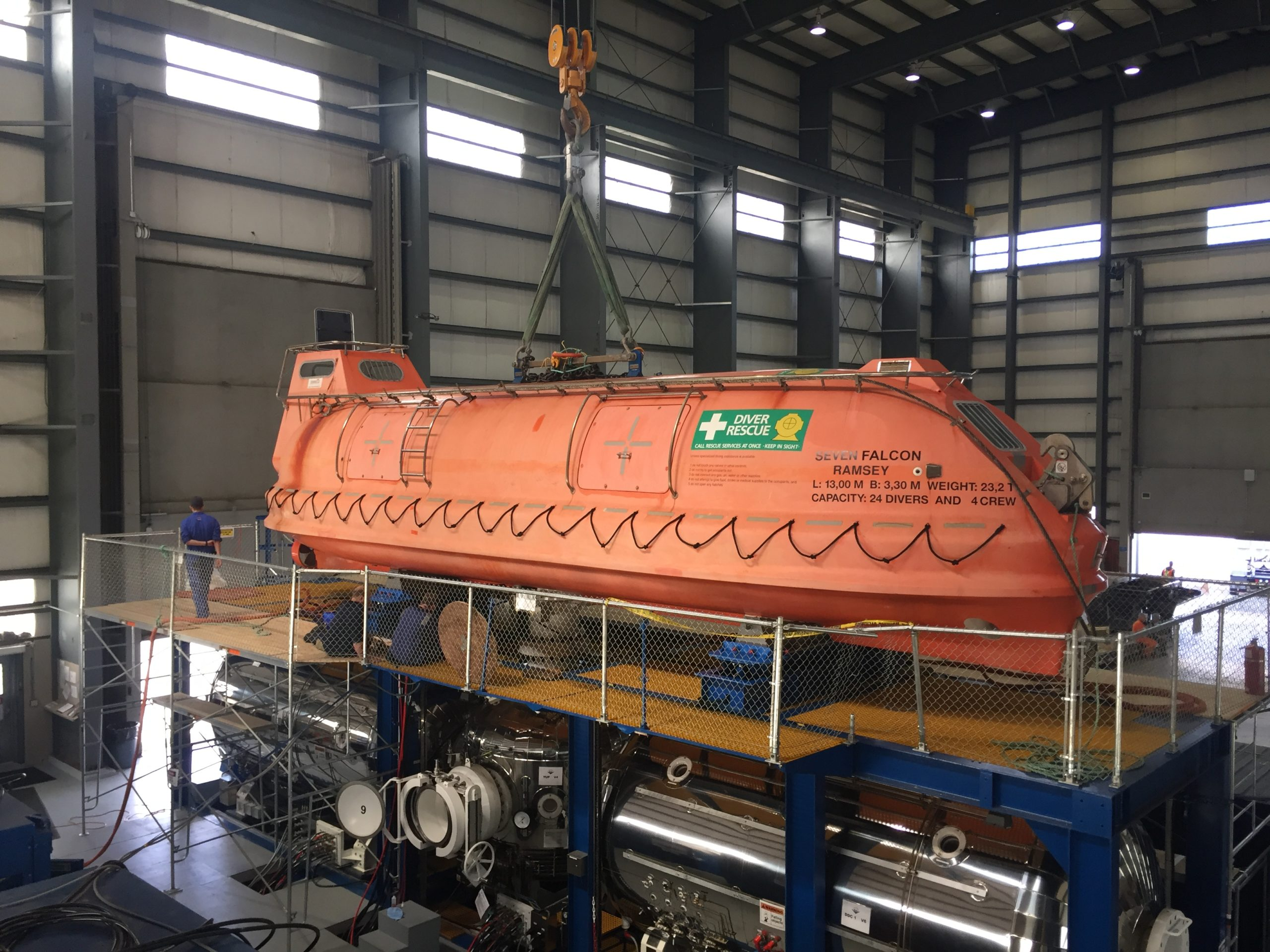 HLB to HRF Mating Trials – DSV Seven Falcon
