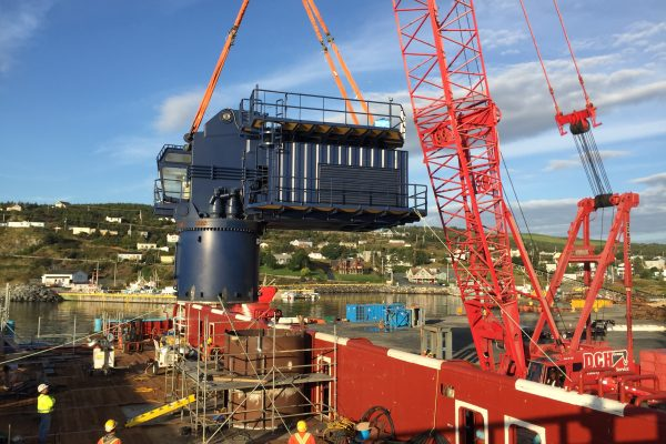 Maersk Nexus Crane Installation Lift Plan
