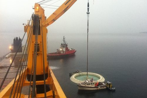 FPSO Turret Cover Plate Transport and Wetstore